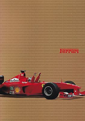 FERRARI Magazin Jahrbuch Yearbook 2000 550 Barchetta 360 Challange 360 Spider
