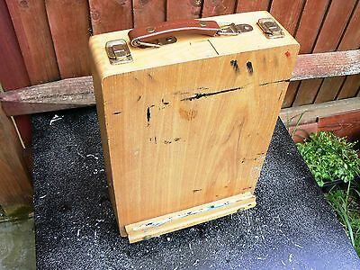 Vintage  Drawing Board cum Box Extendable