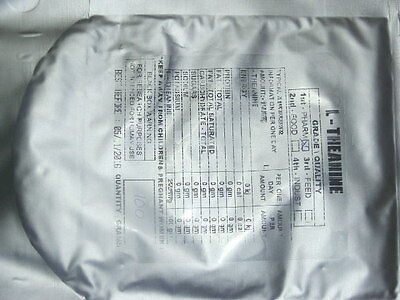 100 grams L - THEANINE POWDER 99.06%
