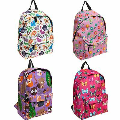 Summit Kids Rucksacks Backpacks Sholder Bag Schoolbag Flower Animal  Butterfly 080112a6a1e13