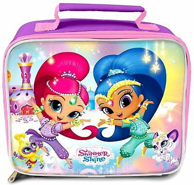 Girls - Shimmer And Shine School Nursery Lunch Bag Box