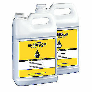 ENERPAC Hydraulic Oil,5 gal.,Plastic Container, HF102, Blue
