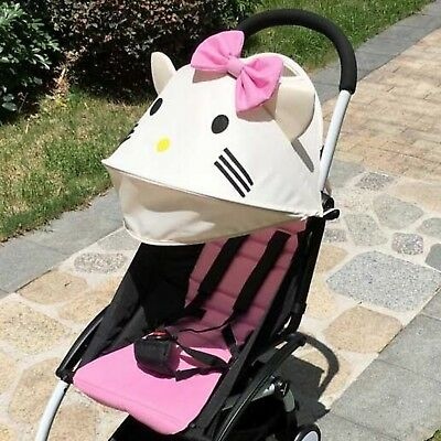 Baby Stroller Textile SunShades Cushion Seat Poussette Pad Shield Accessories