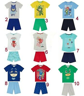 Boys Girls Kids Children Toddler PJ Masks Pjs Pyjamas Age 1,5-8 XMAS 2017 Design