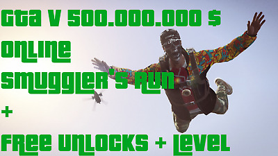 [GTA V] 500.000.000$ Money/Cash/Drop/Shark [PC] +Custom Level +Unlocks