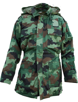 New 100% Genuine Serbian Army Winter Parka Jacket & Thermal Liner All Size