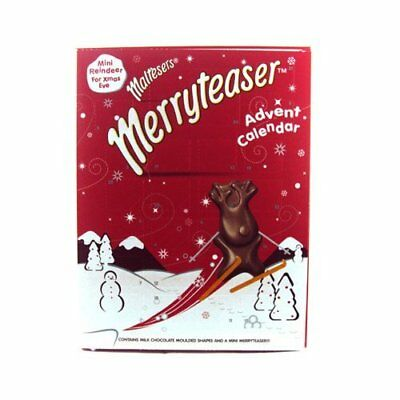 Malteaser Chocolate MerryTeaser Christmas Xmas Advent Calendar 108g  2017