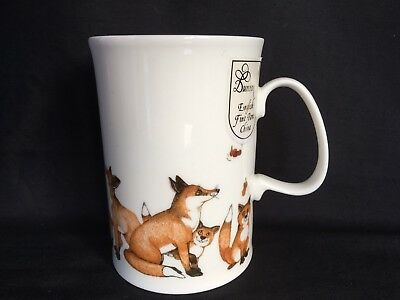 DUNOON~*Clever Devils - Fox*~by Cherry Denman- 1 Fine China MUG- Unused