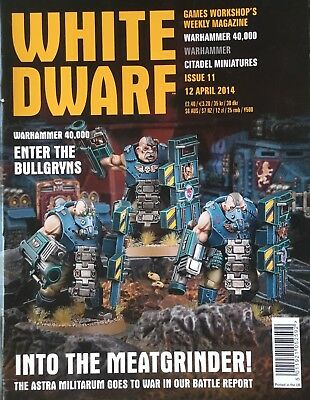 Warhammer 40k White Dwarf 12 April 2014 Astra Militarum Special