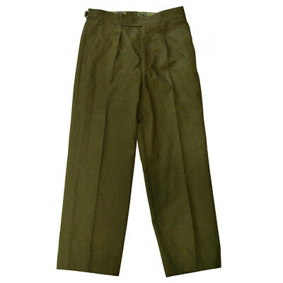 Genuine British Army Uniform Trousers Green Pants No 2 Dress Irish Welsh Olive