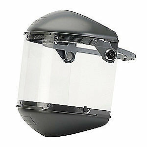 HONEYWELL FIBRE-METAL Faceshield Assembly,Clear,Propionate, FM5400DCCL