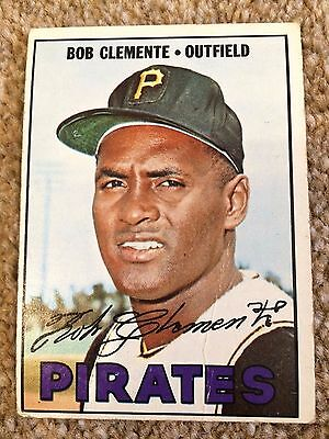 ++ Roberto 'bob' Clemente 1967 Topps Baseball Card #400 - Pittsburgh Pirates ++