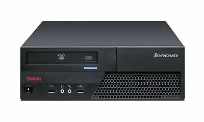 LENOVO ThinkCentre M58e SFF - Intel Core 2 Duo E7400 2.8GHz - HDD 160GB, 4GB RAM