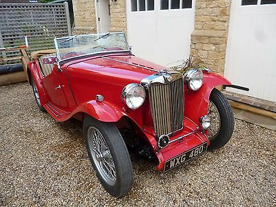 1947 MG TC - Numbers Matching - Superb Condition - Totally Correct