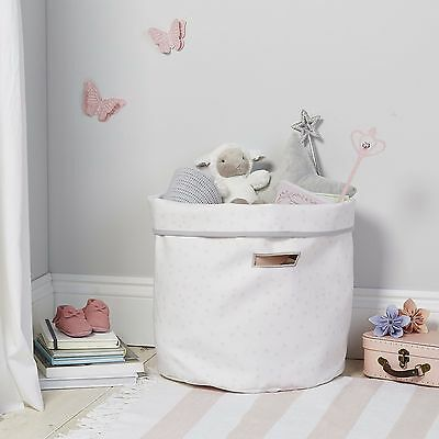 The Little White Company Pink Spots Storage Bag BNWT RRP £35