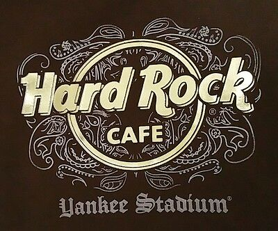 Woman's Hard Rock Cafe YANKEE STADIUM Tee Top Size S New York Rocker T Shirt