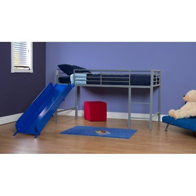 childrens bed/ bunk bed with slide/ single bed