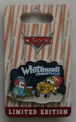 Disney Pin DLR Christmas Luigi and Guido From The Movies Cars Pin LE2000 New