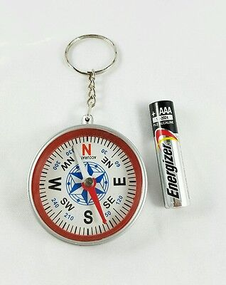 Ad council US DOA Forest Service COMPASS Keychain