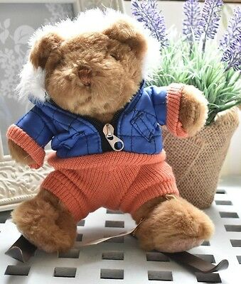 The Teddy Bear Collection Scott The Skiier Soft Toy New With Tags