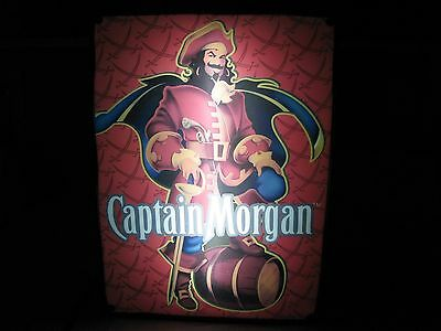 2007 Captain Morgan Spiced Rum Light Lighted Beer Bar Pub Sign