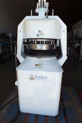Dutchess JN Semi Automatic Dough Divider Rounder in 120V 1-Phase Electric