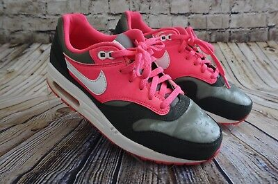 Nike Air Max Girls Sneakers 653653-300 Size 6Y Pink Gray Black