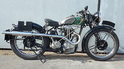 1932 Bsa Blue Star 350 Hand Change. Extremely Rare Pre War Classic! Delivery