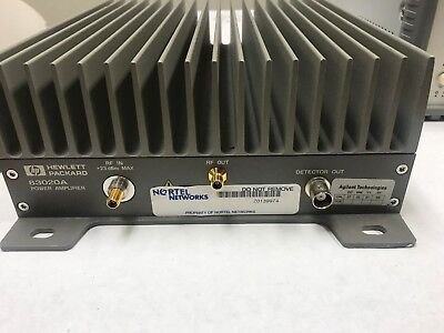 Agilent 83020A 2 to 26.5 GHz MICROWAVE SYSTEM POWER AMPLIFIER