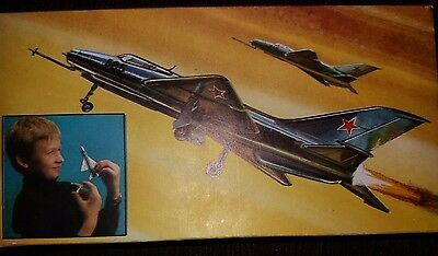1:100 VEB Plasticart - MiG-21. RARITÄT !!! Made in DDR !!!