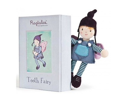 Tooth Fairy Elf Boy Ragtales Girl Baby Keepsake Gift In Box Soft Plush Toy UK