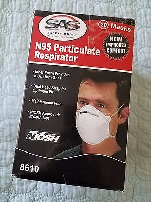 N95 Particulate Respirator 8610 NEW IMPROVED COMFORT