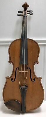 Antique 1/2 Size Child Violin Early 1900s Made In Germany Stradivarius Copy