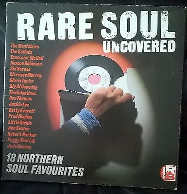 Rare Soul Uncovered - Charly Records - Northern Soul Various Artists