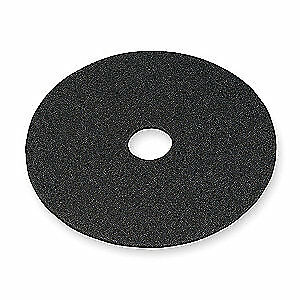 3M Non-Woven Nylon/Polyester Fiber Stripping Pad,17 In,Black,PK5, 7200, Black