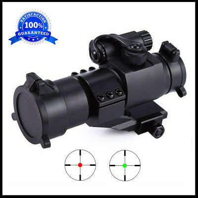 Tactical Red Green Dot Sight Scope Holographic Metal Tube Reflex Optic Black New