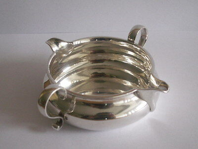 Victorian Solid Silver Double Handed And Spout Sauce Boat George Fox London 1886