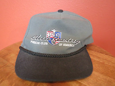 Porsche Club Of America Racing Great Plains PCA Topeka 1995 vintage Hat Cap Otto