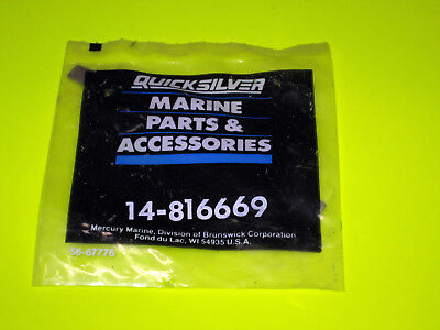 Quicksilver Mercury outboard 816669 Steering Bracket Tab Washer Strap New Oem