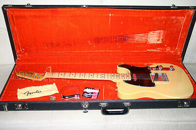 +++ 1977 Fender Telecaster w/OHSC - Made in USA +++