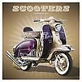 Scooters 2018 Square Wall Calendar