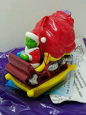 How the Grinch Stole Christmas Ornaments / Fast Food Toys Grinch on Sleigh