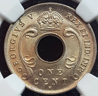 British East Africa 1911 H Brilliant MS 66 NGC WOW