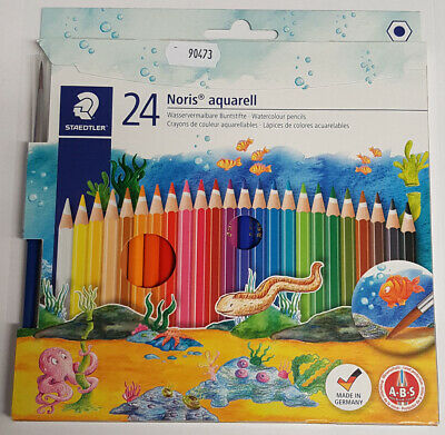 "Set Aquarellstift 24 Stifte ""Noris Club aquarell"" (inkl. Pinsel) STAEDTLER"