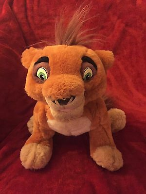 Disney Thinkway Toy Lion King 2 Talking Singing Large Plush Kovu 35cm