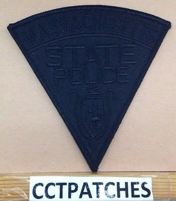 Massachusetts State Police Subdued Shoulder Patch Ma