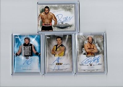 2017 Topps WWE Undisputed Relic & Auto Cards