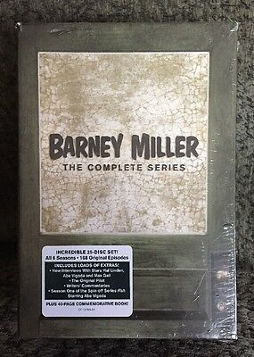 Barney Miller: The Complete Series (DVD, 25-Disc Set) New!