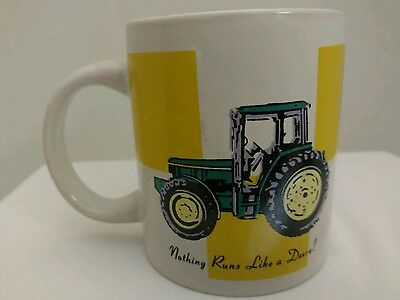 John Deere Nothing Runs Like A Deer Mug