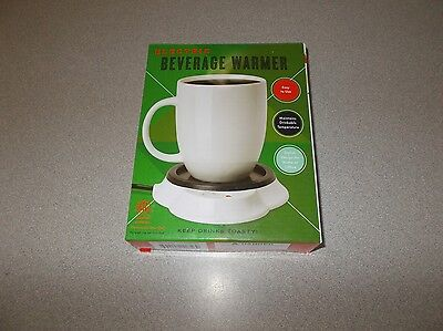 MerchSource plug in electric individual beverage cup warmer plate only new